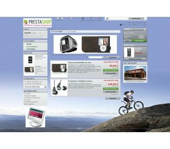 Personalización de páginas y categorías de productos