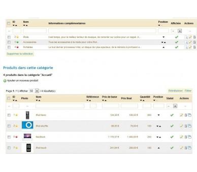 Completo sito di vendite private