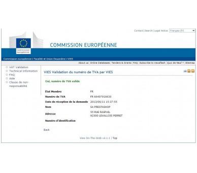 El IVA de gestión y grupos de clientes por país 1.5 & 1.6