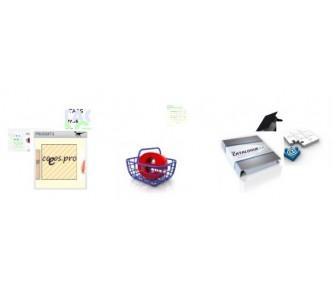 Carrousel avec description des produits
